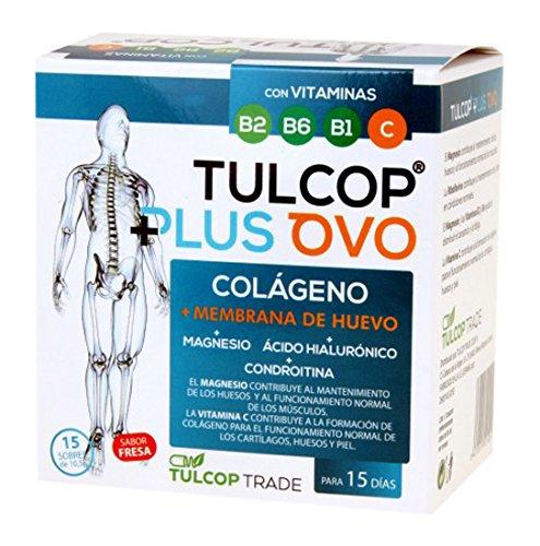 Collagene con membrana di uovo Tulcop Plus Ovo 15 bustine da 10,5 gr