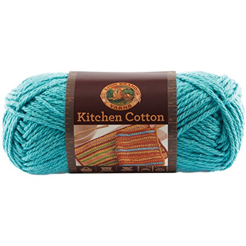 Save 27 Lion Brand Yarn 831 148 Kitchen Cotton Yarn Tropic Breeze