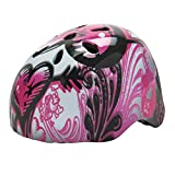 Glow-in-the-Dark Skate Helmet Pink (Size 54-60cm)