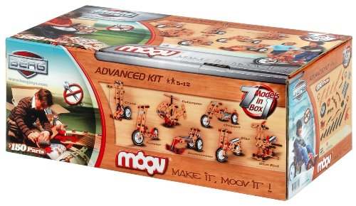 Berg USA Moov Advanced Kit 7-in-1 Build Your Own Riding Toys & Machines 21.03.00.00
