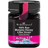 Wedderspoon Organic Organic Manuka Honey Active 12+ w/Bee Venom-8.8 oz