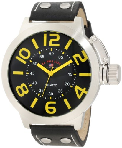 U.S. Polo Assn. Classic Men'S Us5204 Black Analog Watch