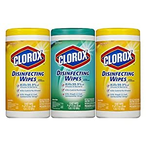 clorox disinfecting wipes value pack scented 225 count packaging may vary baby. Black Bedroom Furniture Sets. Home Design Ideas