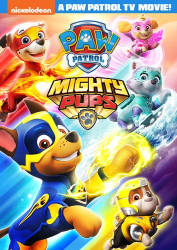 DVD : Paw Patrol: Mighty Pups