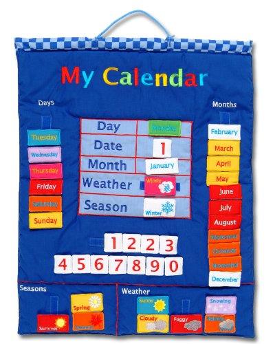 My Calendar Blue Wall Hanging