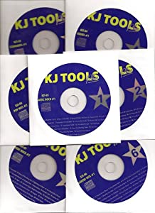 12 Disk Karaoke CDG KJ TOOLS Set 243 Songs Great Variety Pack by KJ tools