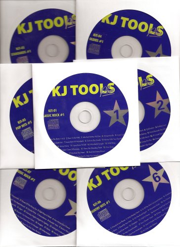 12 Disk Karaoke CDG KJ TOOLS Set 243 Songs Great Variety Pack by Karaoke versions, Elvis, Billy Ray Cyrus, Eagles and Beatles
