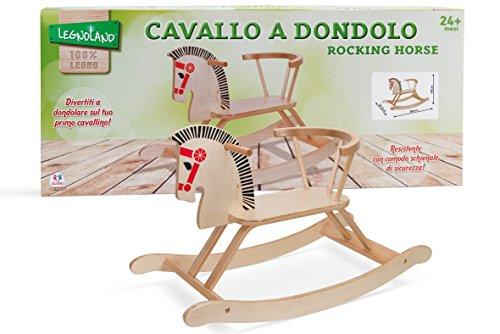 Legnoland 37021 - Cavallo a Dondolo in Legno