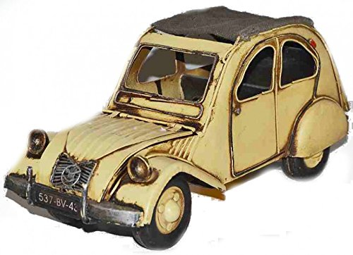 Model Car Citroen 2 CV - Retro Tin Model
