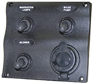 Seasense Marine 3 Way Switch Panel