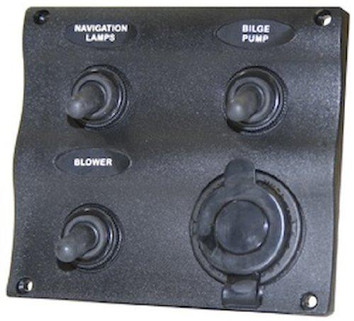 SeaSense Marine 3 Way Switch Panel