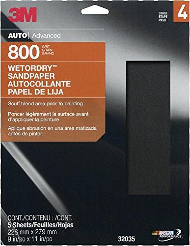 "3M 32035 Imperial Wetordry 9"" x 11"" P800 Grit Sheet"