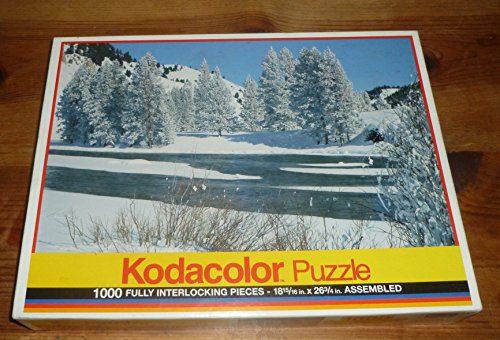 Kodacolor 1000 Piece Jigsaw Puzzle - Beaver Den, San Juan, CA