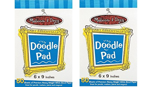 Melissa & Doug Doodle Pad 2 Pads - 1