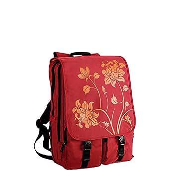 Laurex BP115RE 17-Inch Laptop Backpack (Red)