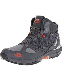 The North Face Men's Ultra Fastpack Mid GTX Shoes 7.5 D(M) US Zinc Grey/Valencia Orange