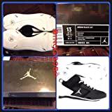 Jordan Black Cat Metal Cleats Mens