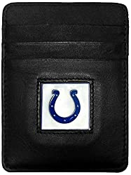 Indianpolis Colts Leather Money Clip/Cardholder Packaged in Gift Box