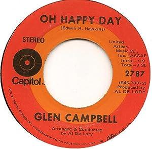 Glen Campbell Oh Happy Day Someone Above Glen