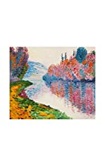 Arte Dal Mondo Pintura al Óleo sobre Lienzo Monet Rive Della Senna
