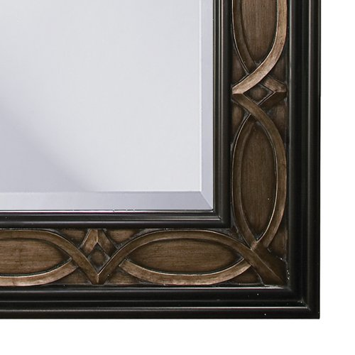 Howard elliott 43070 charles mirror bronze general general for Mirror 90 x 60