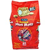 Pearsons Salted Nut Roll, Bite Size - 90 Count