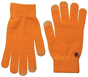 Timberland Men's Knit Magic Glove, Burnt Orange, One Size