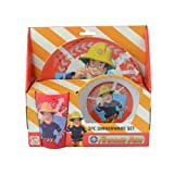 Fireman Sam Arrows 3 Piece Dinnerware Set