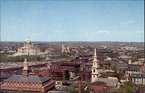 Panoramic view of Providence, Rhode Island