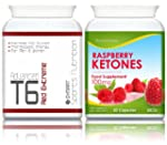 T6 Red Extreme 90 Capsules + FREE Ras...