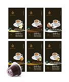 Gourmesso Flavor Box - 120 Nespresso kompatible Kaffeekapseln