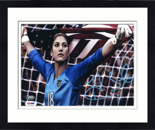 df1765a5fbb Framed Autographed Hope Solo Photo - 8x10 ITP - PSA DNA Certified - Framed  Soccer