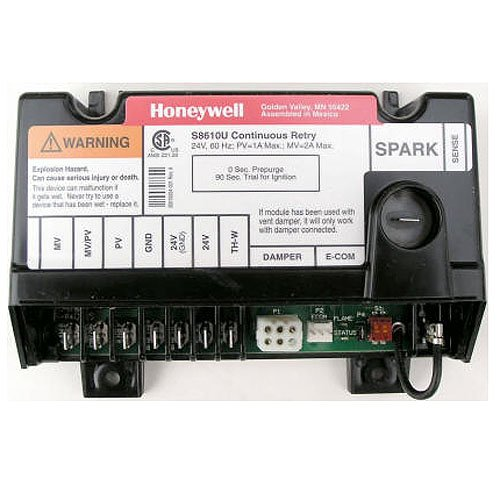 Replacement for Honeywell Furnace Integrated Pilot Module Ignition Control Circuit Board S8600H3010