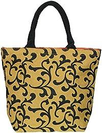Utsav Kraft Women'sBag,Travel Bag,Hand Bag, Shopping Bag, Lunch Bag, Men/women/student Lunch Bag (Brown/Olive...