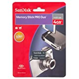 SanDisk Memory Stick Pro Duo Speicherkarte 4GB (Retailverpackung)von &#34;SanDisk&#34;