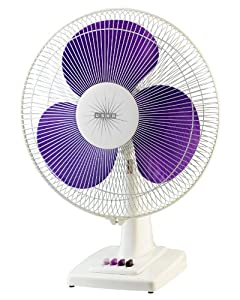 Usha Mist Air Ex 400mm Table Fan  Purple  available at Amazon for Rs.1650