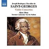 VIOLIN CONCERTOS ,Chevalier De Saint-Georges