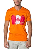 CANADIAN PEAK Camiseta Manga Corta Jerable (Naranja)