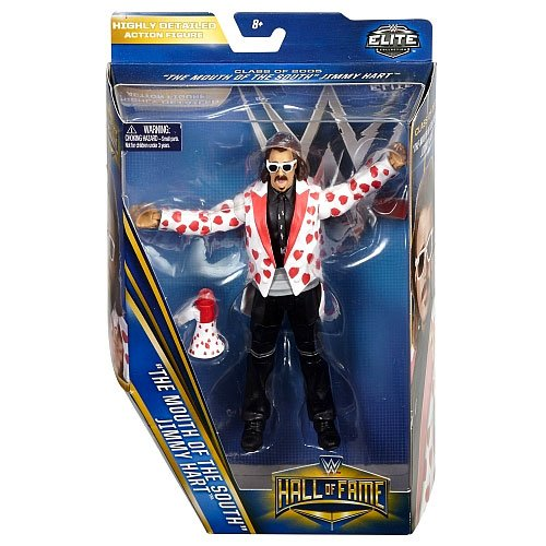 """WWE Wrestling Elite Collection Hall of Fame Jimmy """"Mouth of the South"""" Hart """"6"""" Action Figure"""
