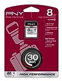 PNY 8GB Class 10 High Performance MicroSD Memory Card
