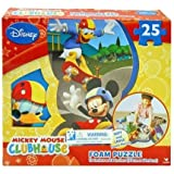 Disney Mickey Mouse Clubhouse 25-piece Floor Foam Puzzle Mat