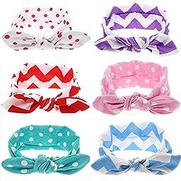 Visokar® Adorable Baby\'s Headbands Girl\'s Hair Bows Newborn Headbands