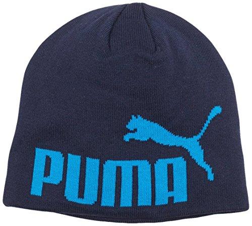 Puma, Berretto Big Cat, Nero (Black Iris-No1 Logo), Taglia unica Bambini