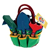 Schylling Little Farmer Garden Tote with Tools ~ Schylling