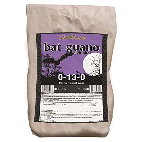 Vital Earth'S High Nitrogen Bat Guano 6-3-1, 22-Pound Bag