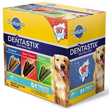 Pedigree Dentastix 51-Treat Variety Pack