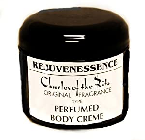 "Charles of the Ritz ""Original"" type SCENT in REJUVENESSENCE PERFUMED BODY CREAM 4 OZ."
