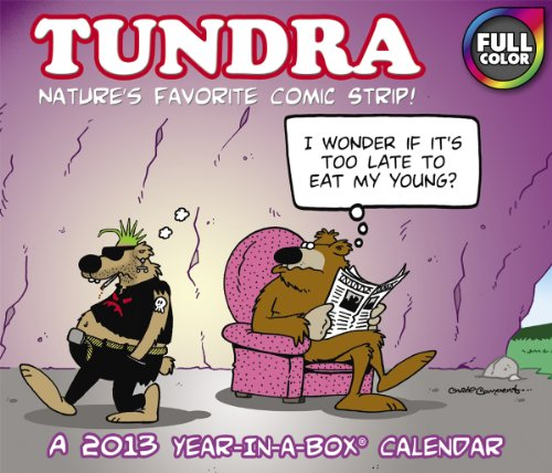 2013 Tundra Year-In-A-Box Calendar