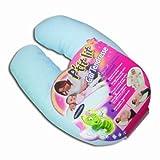 Ptit Lit 23715 9 Breast Feeding Pillow Natural Cotton Blue