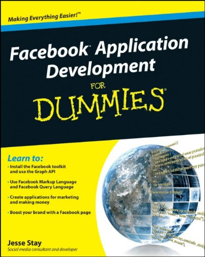 Facebook Application Development For Dummies